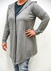 Hooded Light-weight Cardigan