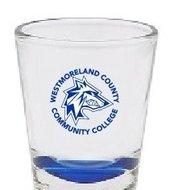Shot glass 1.5oz Royal Blue